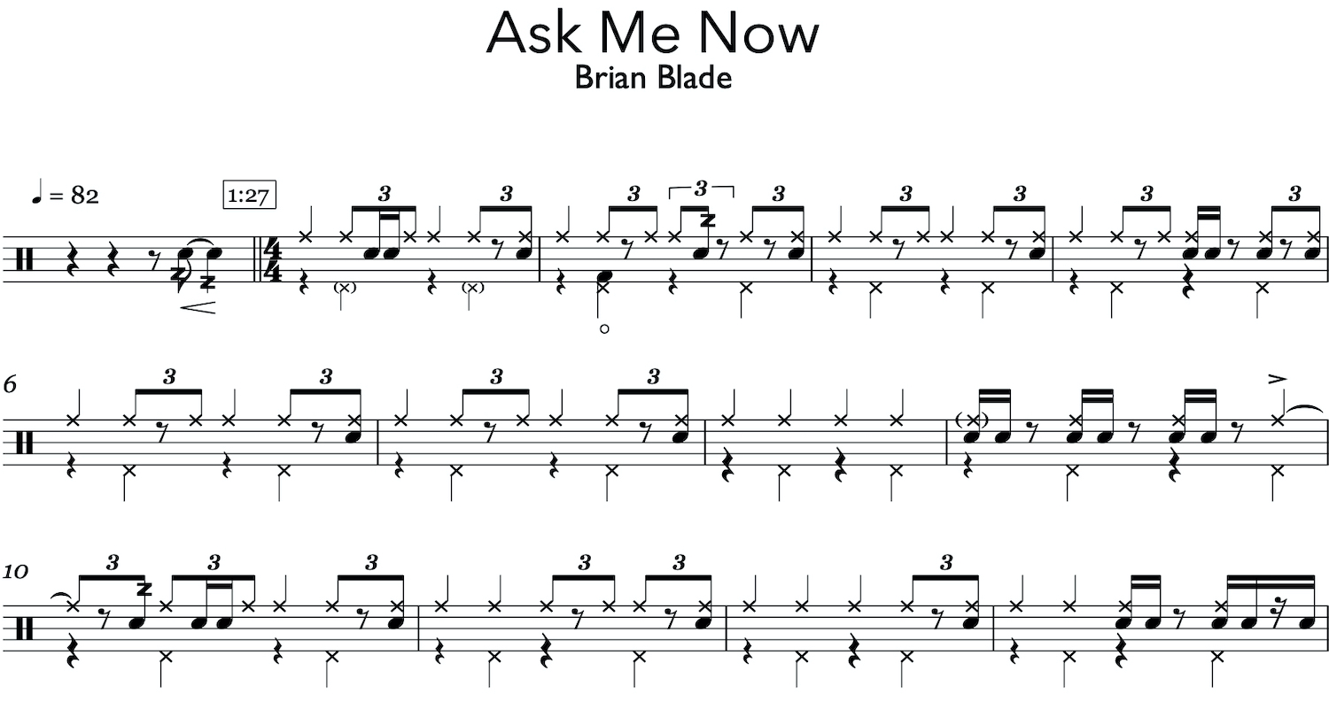 Ask Me Now - Brian Blade - on jazz drumming